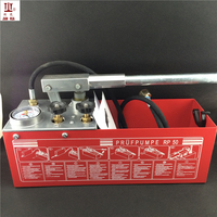 12L 50Kg Hand Power Hydraulic Pipeline Pressure Test Pump Water Pipe Leakage Tester 5MPa Hydraulic Test Pumps
