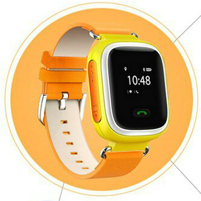ФОТО Second generation color child smart watch wifi card led sports electronic watch male girl