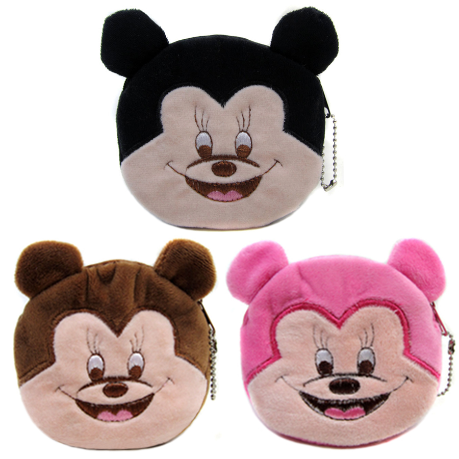 2017 Hot Sale Character Mini Wallets Kids Plush Bag Women Cartoon Coin Purses Ladies Zipper Pouch 2017 hot sale character mini wallets kids plush bag women cartoon coin purses ladies zipper pouch