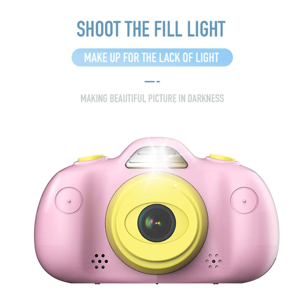 NEW P8 Mini Children's HD 8MP DSLR Dual Lens Waterproof Photography Digital Camera with 2.4 TFT Screen Kids Toys Birthday Gift image