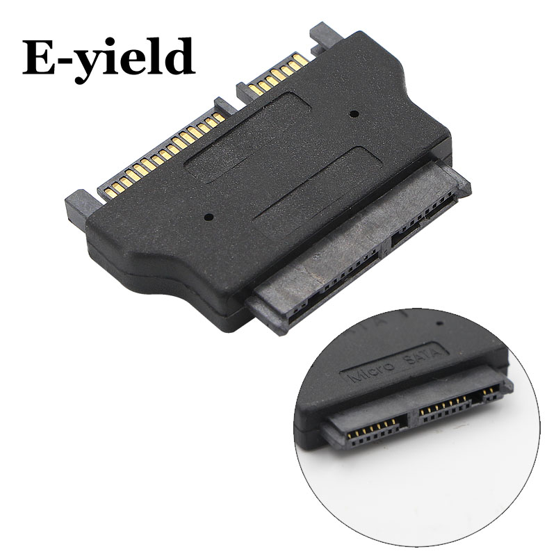 SATA 22 pin Female to 1.8 IN Micro SATA 16 pin Male 3.3V Adapter convertor for Hard Disk Drive SSD portable sata male jack to esata female plug convert convertor adapter connector for hdd hard drive