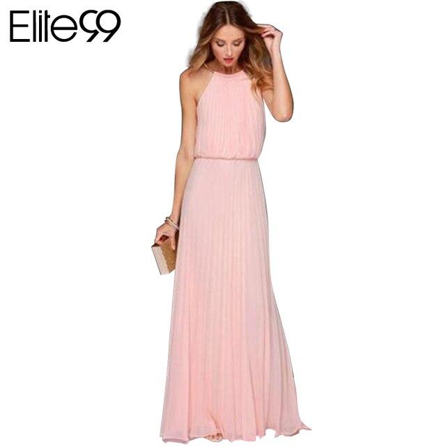 Elite99 verano blanco plisado dress maxi gran gatsby vestidos de las ...