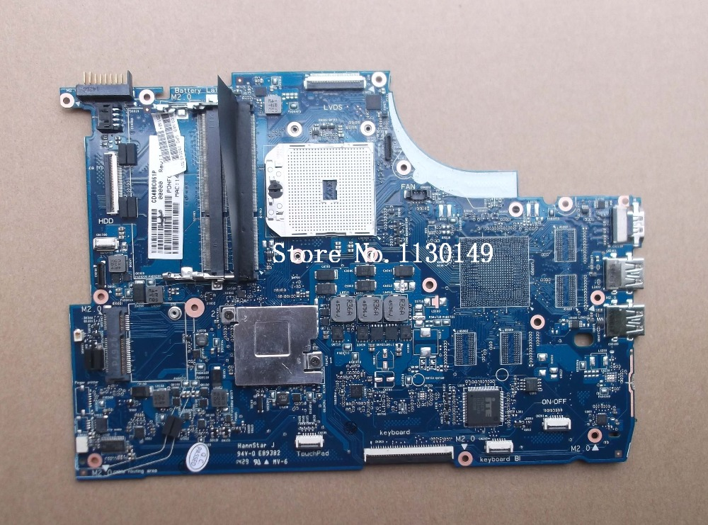 ФОТО 760042-001 Free Shipping Original 760042-501 FOR HP ENVY M6-N010DX M6 M6-N Laptop Motherboard Mainboard 100% teste