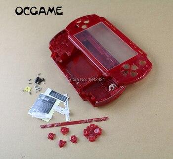 OCGAME Multi Color Para PSP 1000 PSP1000 Shell Habitação Completa Substituição Da Tampa do Caso Kit de Botões Com Melhor Qualidade