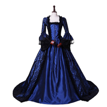 Colonial Georgian Penny Dreadful Victorian Dress Gothic Period Ball Gown Reenactment Theater Dresses
