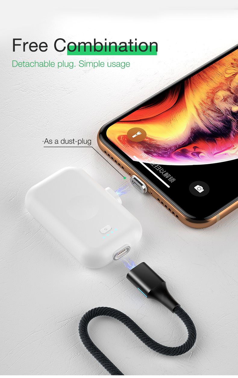 Magnetic Wireless Power Bank Portable Charger External Battery (12)