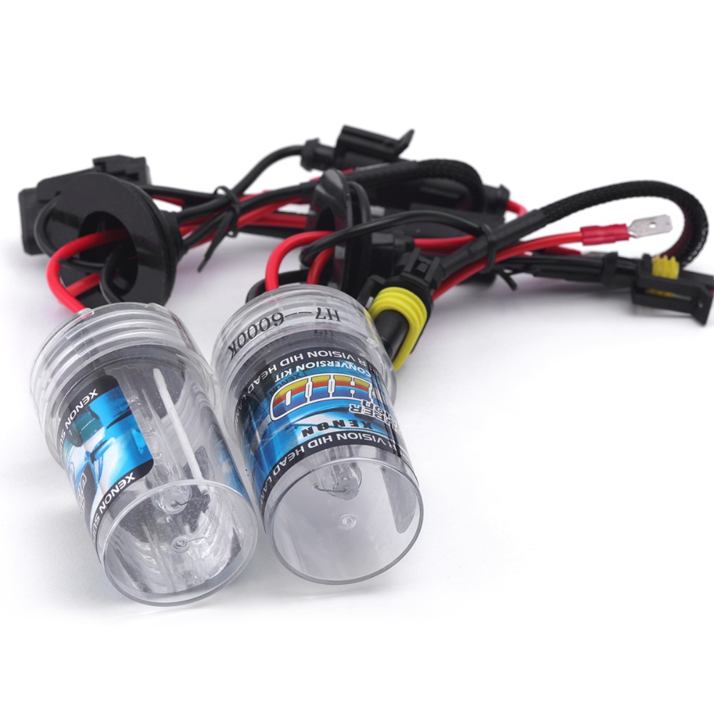 1pair AC 12v 55w Hid Bulb Single Beam Hid Bulbs Replacement 55w Hid Bulb Free Shipping