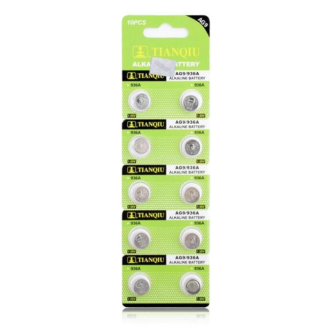 20pcs/pack Fast Selling AG7 Alkaline Batteries G7 LR57 LR927 SR927W 395 Coin Button Cell 1.55V For Watch Toys Remote Islamabad