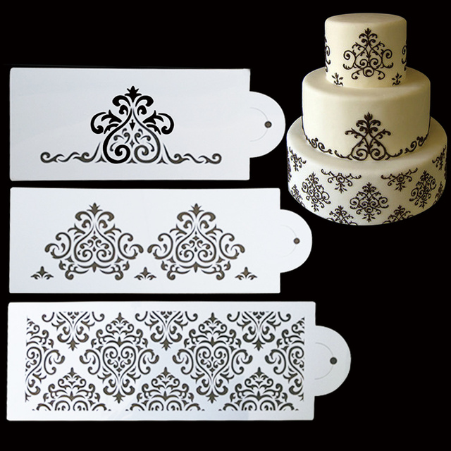 Wedding Cake Decoration Molds : Amazon 3D Wedding Cake Chocolate Candy Mold Kitchen Dining ...