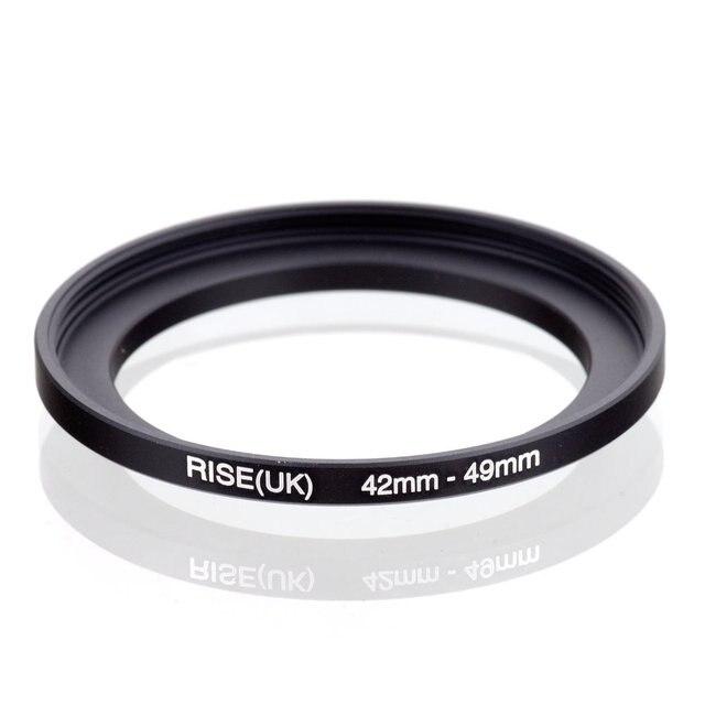 Originale RISE (UK) 42 millimetri 49 millimetri 42 49 millimetri 42 a 49 Step Up Anello Adattatore Filtro nero