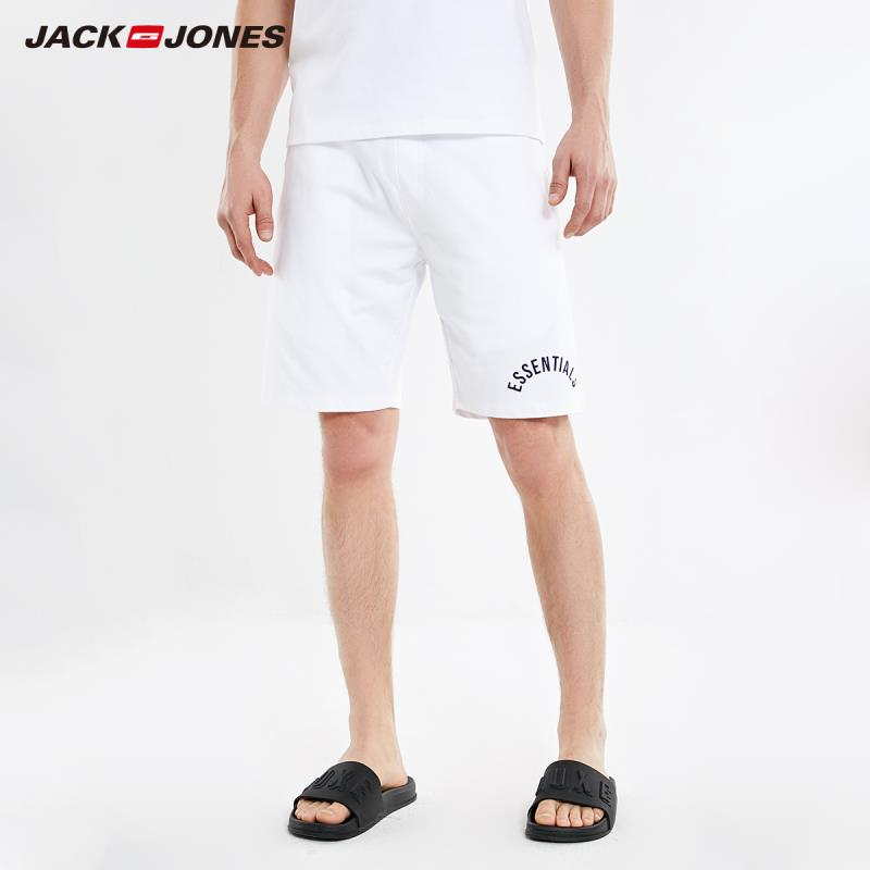 JackJones Men's 100% Cotton Drawstring Sports Shorts|2191HD501