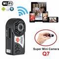 Q7 Мини DVR Wi-Fi Беспроводной IP Видеокамеры Video Recorder Камеры Инфракрасного Ночного Видения Камера Motion detection