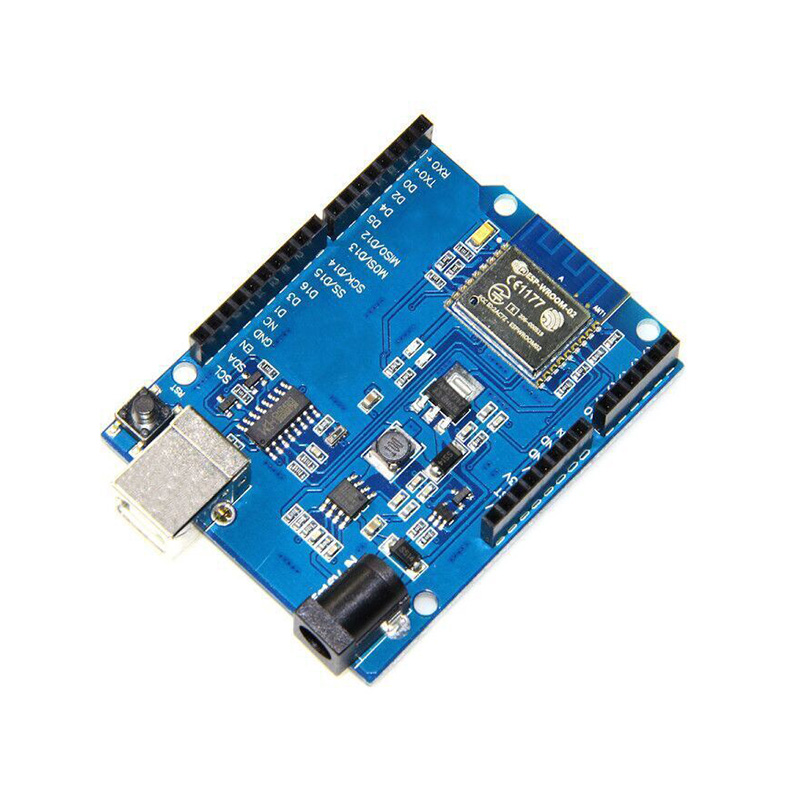 1Pcs of ESP8266 ESP-WROOM-02 WIFI Development Board Module For Arduino UNO R3 fast free ship for gameduino for arduino game vga game development board fpga with serial port verilog code