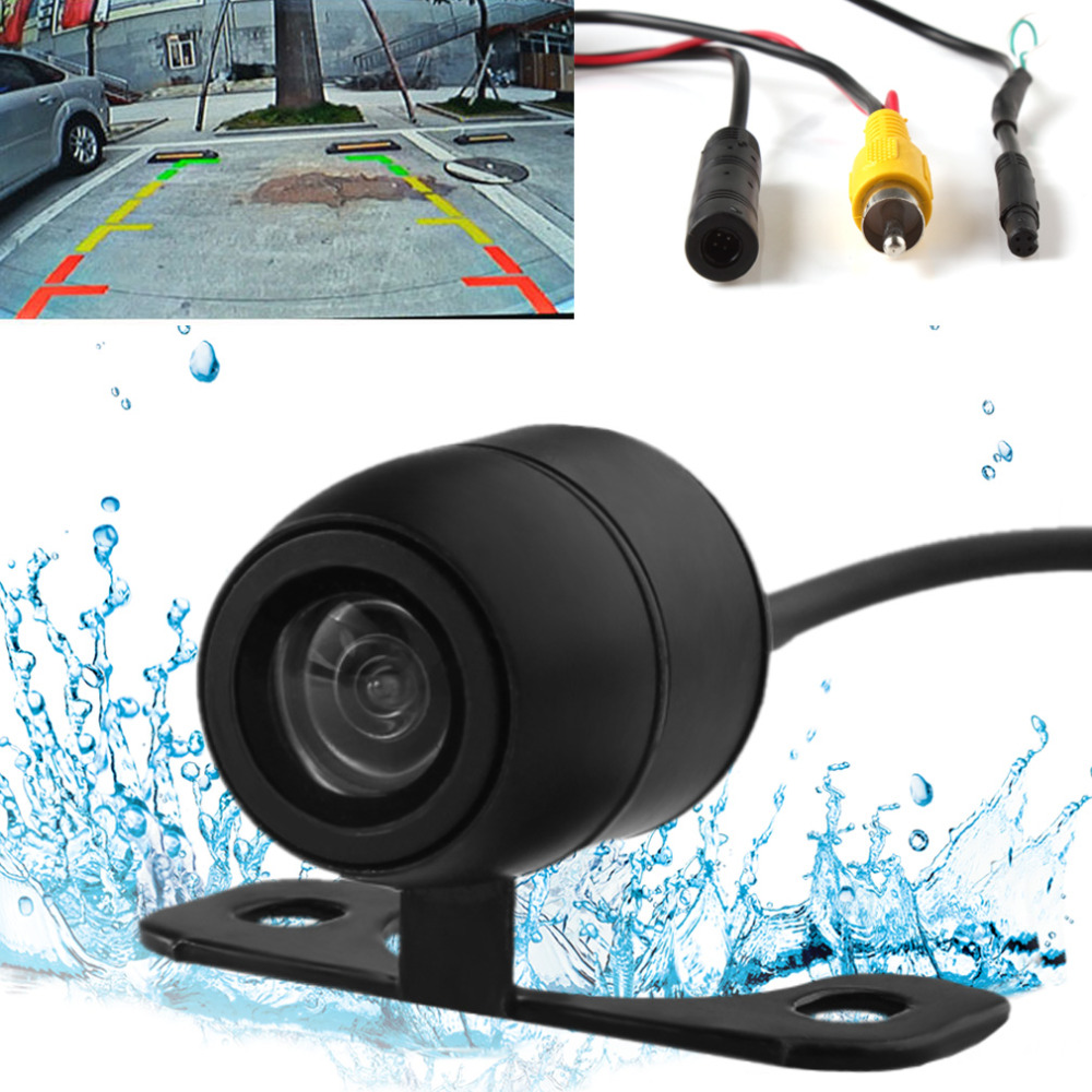 2 in 1 New Car Forward Rear View Parking Camera CCD 170 Degrees Auto Vehicle Backup