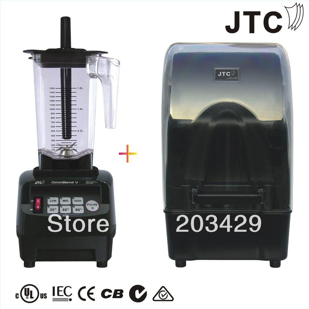 JTC Omni-Q (Blender+shield), Model:TM-800AQ, Black, FREE SHIPPING, 100% GUARANTEED NO. 1 QUALITY IN THE WORLD блендер для сухого молока 3hp 38000 2 jtc omniblend tm 800aq tm 800aq