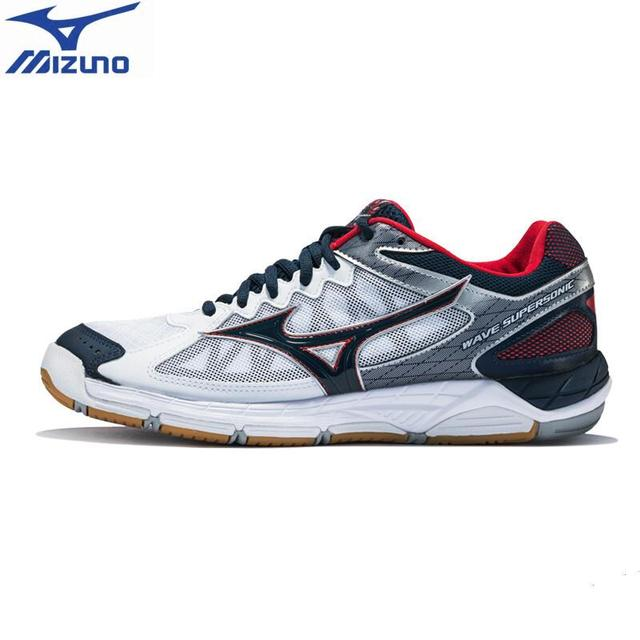 26bca3642d7a 2018 MIZUNO SUPERSONIC Volleyball Shoes men women Cushion Sports Shoes  Breathable Non-slip indoors Sneakers Tenis Voleibol
