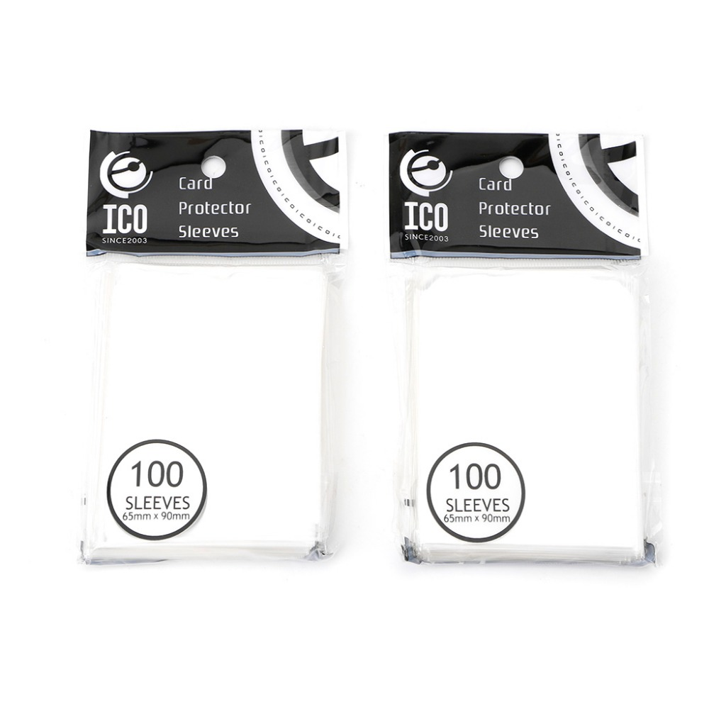 200pcs/bag 65x90mm Card Sleeves Desk Protector For Magical Gathering Board Game