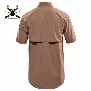 Image 5 - MEGE Summer Men Shirt Military Men Short Sleeve Shirt Casual Shirt Mens Brand Social Clothing Chemise Homme Camisa Masculina 2XL