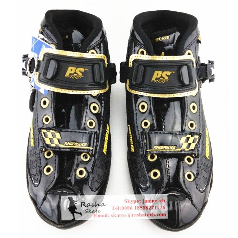 Prix pour Ps C4 chaussures de patinage de vitesse Professionnel enfant adulte patins à roulettes vitesse inline patinage de démarrage