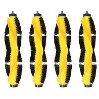 (B6009)Spare part for LIECTROUX Robot Vacuum Cleaner B6009 Rubber Brush 4 pcs