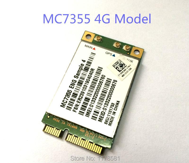 ФОТО MC7355 Sierra Wireless Mini PCI-E LTE 4G QUALCOMM WCDMA GSM GPRS GNSS Module  stock