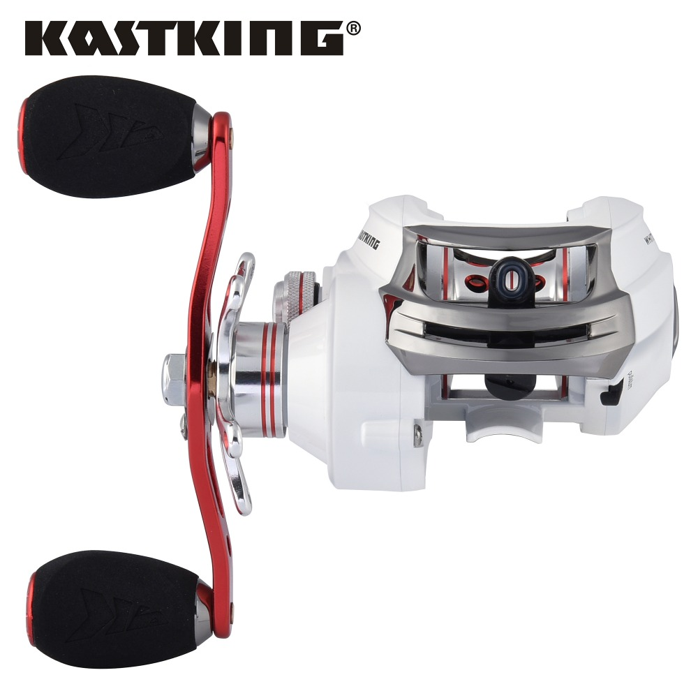 Kastking whitemax baitcasting reel 12 ball bearings carp for Baitcasting fishing reels