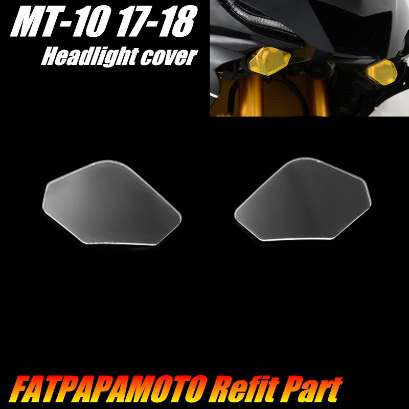 FOR <font><b>YAMAHA</b></font> <font><b>MT</b></font>-<font><b>10</b></font> MT10 <font><b>MT</b></font> <font><b>10</b></font> 2017 2018 Motorcycle Accessories Headlight Protection Guard Cover image