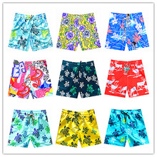 2018 Brequin Beach Board Shorts Men Swimwear Bermuda Masculina Sexy Man Swimtrunks 100% Quick Dry Elastic Band Sportswear M-XXXL