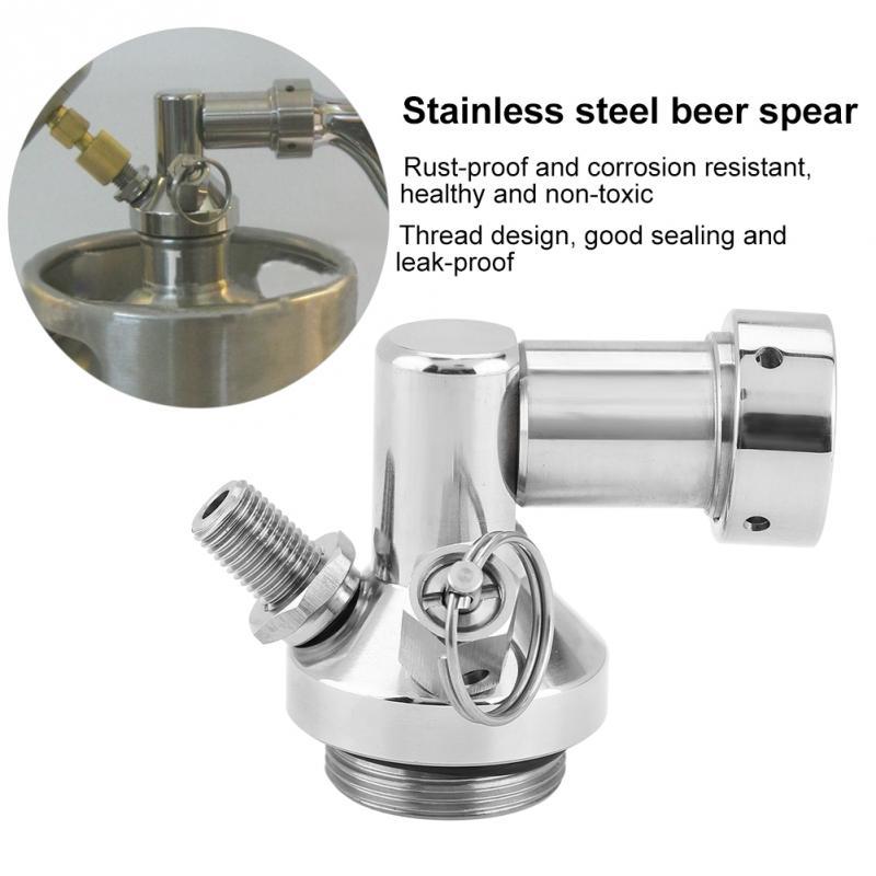 Stainless Steel Mini Keg Tap Dispenser Beer Brewing Spear