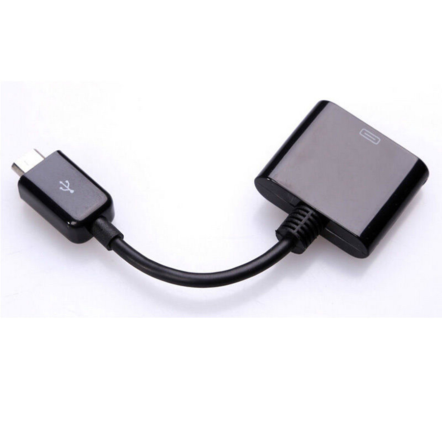 Micro USB Male to 30 Pin Female Charger Converter Data Sync Charging Adapter Cables For Apple iPad iPhone Docking Adapter Wire