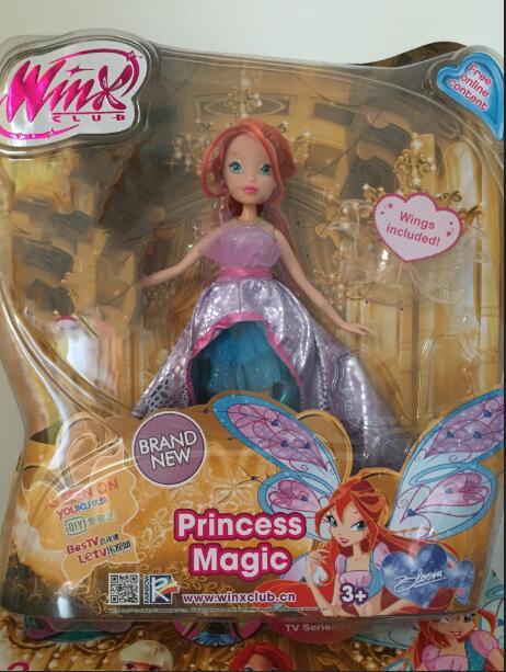 beautiful Newest Winx Club Doll rainbow colorful girl Action Figures Fairy Bloom Dolls Draculaura Frankie Stein Clawdeen Wolf