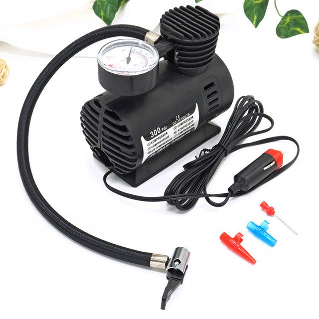 300PSI C300 12V Mini Air Compressor Auto Car Electric Tire Air Inflator Pump 300PSI C300 12V Mini Air Compressor Auto Car