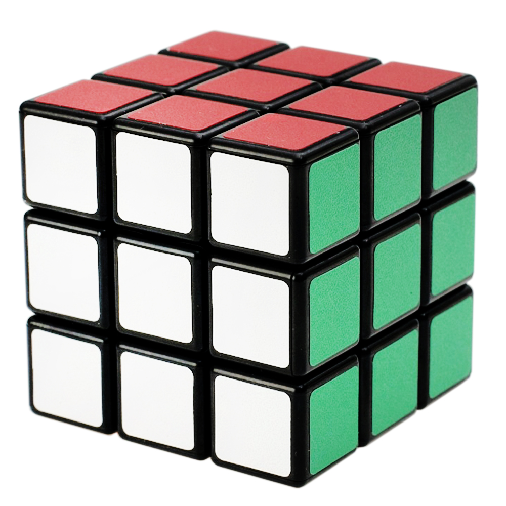 3x3x3 Speed 57mm Magic Cube 3*3*3 On 3 Layers Cubo Toy For Children Professional Neo Cubos Megico Shengshou Stickers