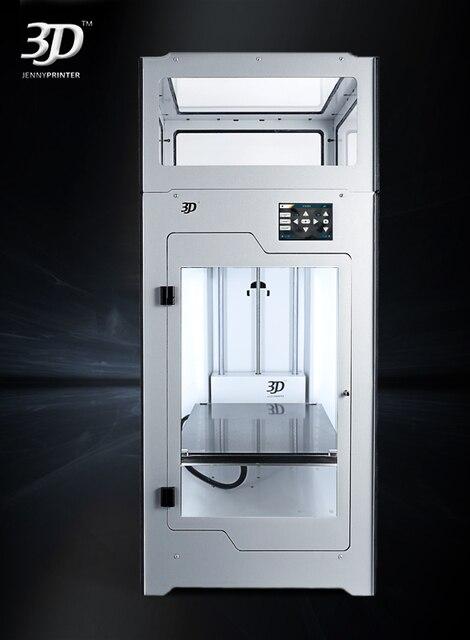 Le plus récent! Assemblé JennyPrinter4 Z370 double extrudeuse haute précision et grand Volume imprimante 3D étendu pour Ultimaker 2 UM2 +