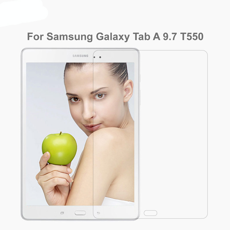 Screen Protector For Samsung Galaxy Tab A 9.7 T550 T551 T555 Tempered Glass For SM-T550 9.7