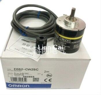 OMRON Rotary Encoder E6B2-CWZ6C 2500 2000 1800 1024 1000 600 500 400 360 200 100 60 40 30 20P/R 5-24v 1