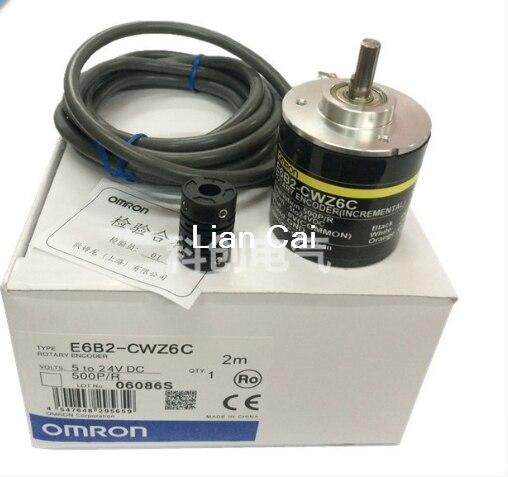 OMRON bouton rotatif E6B2-CWZ6C Interrupteur Rotatif 10P//R à 2000P//R 5-24 V