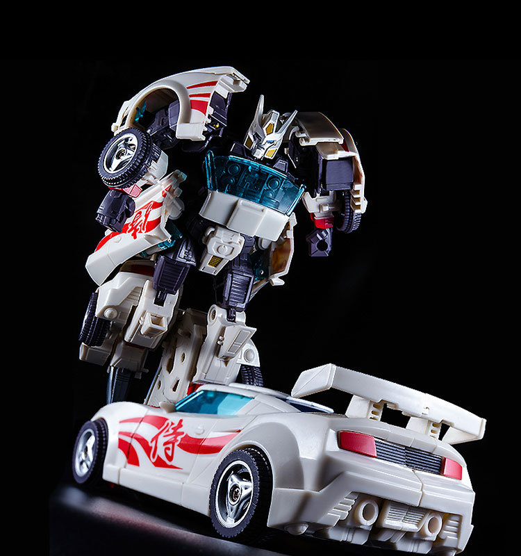 18cm High Simulation Anime KBB Classic Children Toy Movie Action Figure Transformation Drift ABS Car Model Deformation Robot toy thinkeasy anime series action figure toys transformation robot multiple styles abs plastic class model boy toy christmas gifts
