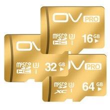 OV ПРО Шампанское Золото Micro SD Карты SDHC SDXC UHS-I U3 16 ГБ 32 ГБ 64 ГБ Карты Памяти Class10 TF Microsd Карты Для Мобильного Телефона таблетки