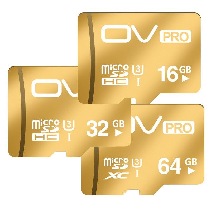 OV PRO Champagne Gold Micro SD font b Cards b font SDHC SDXC UHS I U3