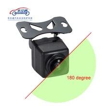 180 градусов Автомобильная камера большая широкоугольная фронтальная камера для DVD Камера заднего вида без линии парковки боковая камера