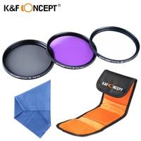 37MM Lens FLD UV CPL Circular Polarizer Filter Kit For Olympus PEN E PL1 E PL2
