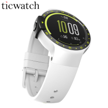 Ticwatch S Glacie Smart Watch Android Wear 2.0 MTK2601 Bluetooth 4.1 WIFI GPS Moving Music Heart Rate IP67 Water Resistant Watch