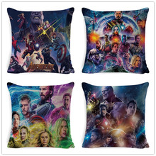 New Avengers Alliance 4 Movie & TV Stills Cushion Cover Pillow Case Sofa Home Decorative Super Hero Marvel Throw
