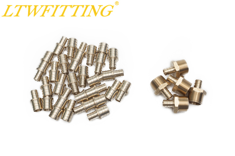 цена на LTWFITTING Value Pack Lead Free Brass 1/2