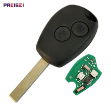 5pieces/lot 2 Buttons Remote Key For Renault Car Key Smart Keyless Entry Fob With PCF7946 Chip 433MHZ No Logo недорого