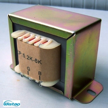 10W Tube Amplifier Output Transformer Z11 Single-ended Silicon Steel 20H 0-4-8ohm for Tubes 6P14 EL34 EL84 6P3P KT88 Audio HIFI image
