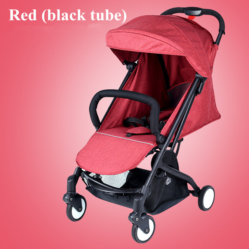 2017 Brand New 4 in 1 Newbore Umbrella Pram Lightest Portable Baby Strollers Four Wheels Anti-Shock One Key Folding Cart07