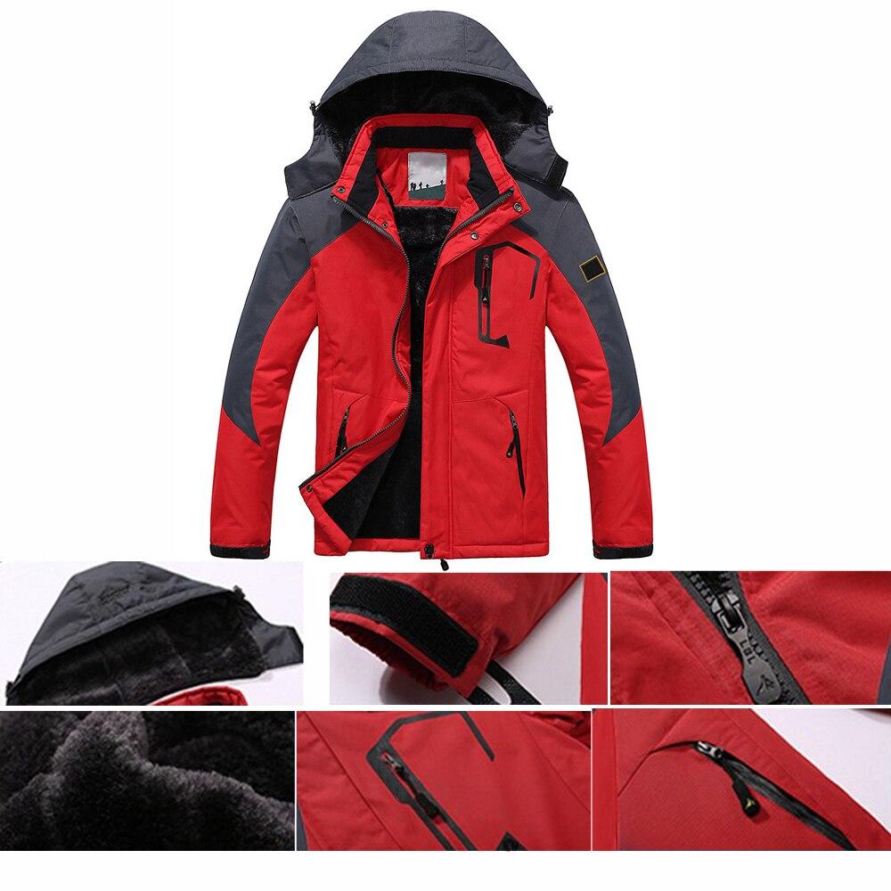 TENNEIGHT En Plein Air Veste Femmes Étanche Sport Manteau Coupe-Vent D'hiver Randonnée veste de Camping Trekking De Pêche Veste de Ski chaud - 6