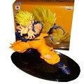 7 polegada/18 cm Anime Dragon Ball Z Figuras de Ação Super Saiyan Sun Goku Versão Toy Modelo para o Presente de Aniversário Juguetes PVC Banpresto